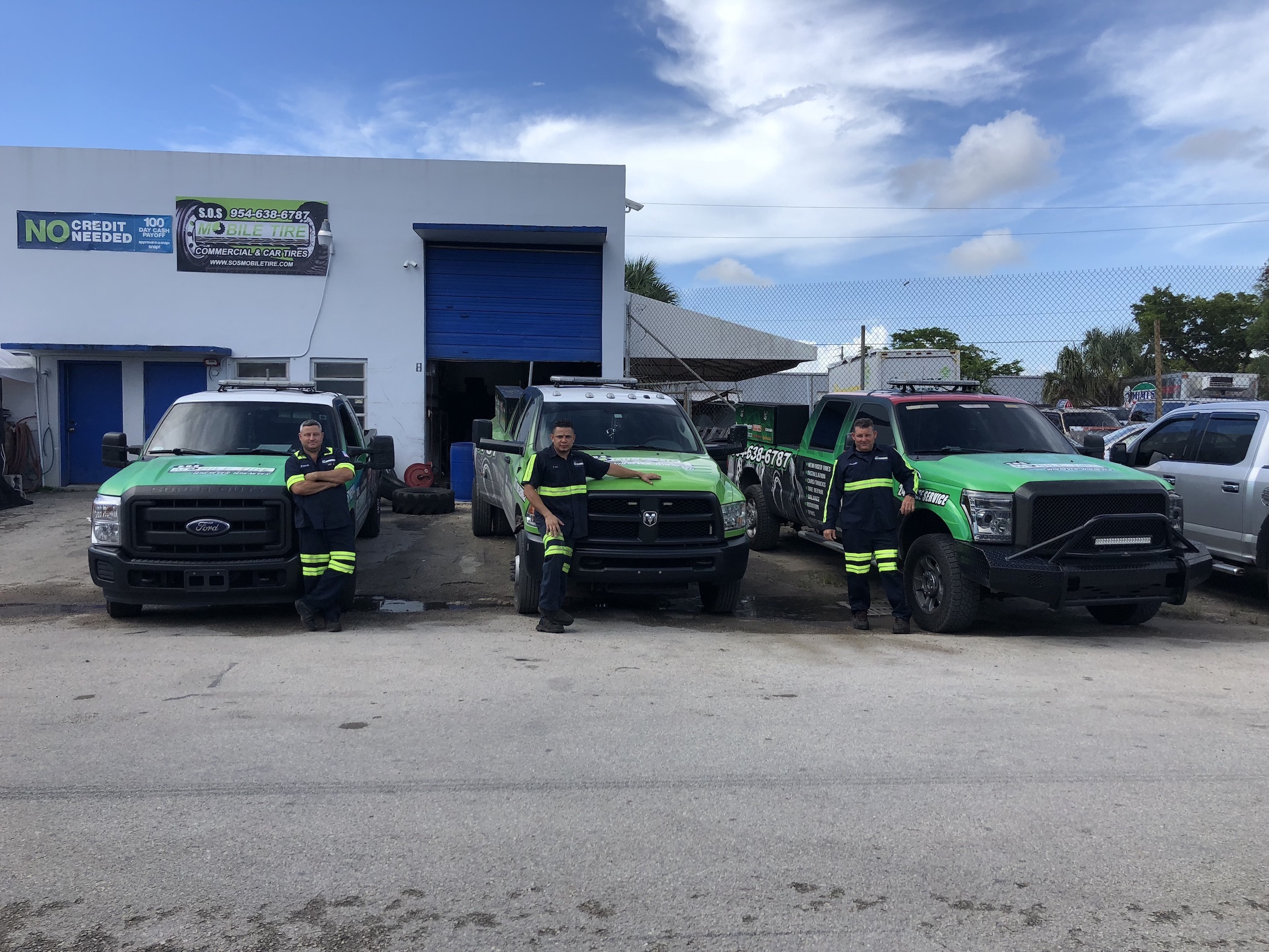 Mobile Tire Repair in Davie FL